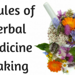 graphic of 5 rules of herbal medicine making