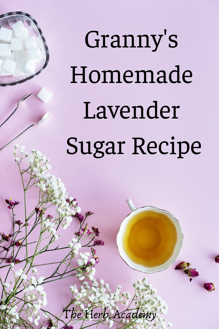 granny's lavender sugar recipe