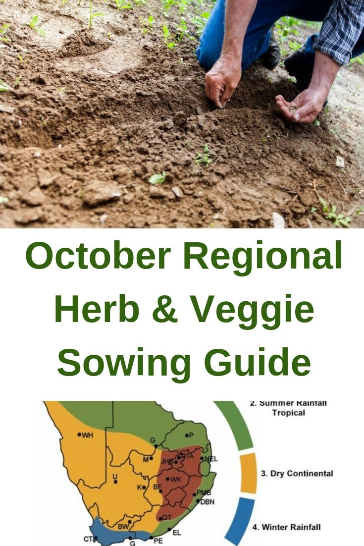 october regional sowing guide